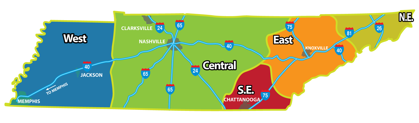 Tennessee RV Parks and Campgrounds | Camp in Tennessee